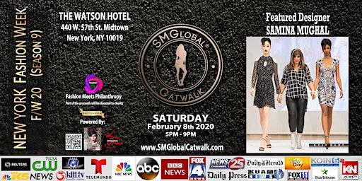 NEW YORK FASHION WEEK F/W 20 (SMGlobal Catwalk - Season 9) Feb 8th 2020