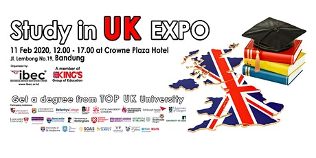 Study in UK Expo 2020 - Bandung tickets