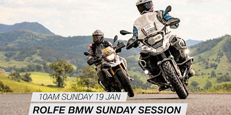 Rolfe BMW Motorrad Sunday Session tickets