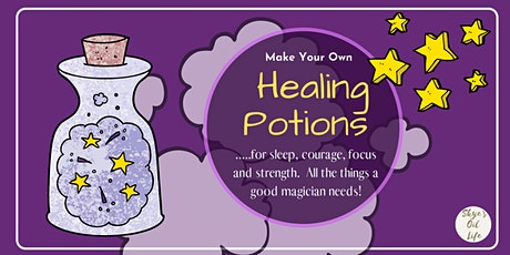 Magic Healing Potions with Essential Oils tickets