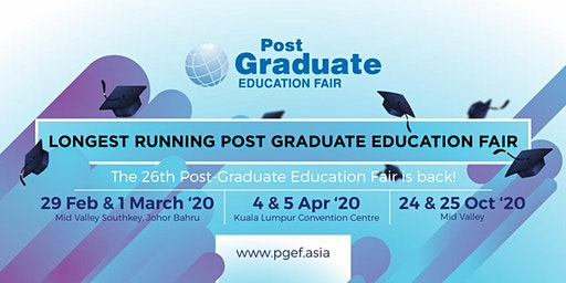 Post Graduate Education Fair 2020 - Mid Valley Southkey