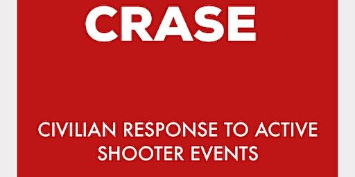 CRASE-Civilian Response to Active Shooter Events