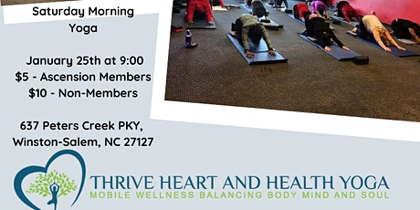 Thrive Heart & Health Yoga tickets
