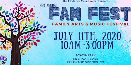 2nd Annual FAM Fest (Family Arts and Music Festival) tickets