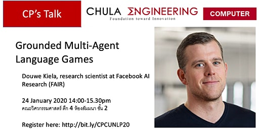 CPCU Talk: Grounded Multi-Agent Language Games