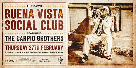 The Pawn BUENA VISTA SOCIAL CLUB tickets