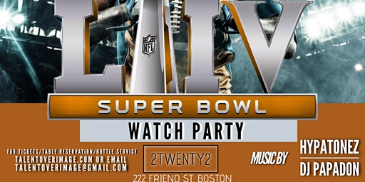 Who Run It  ( 54th Super Bowl Watch Party)