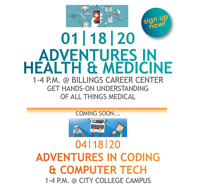 STEM YELLOWSTONE PRESENTS - Adventures in Health & Medicine image