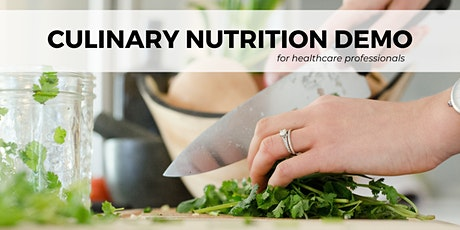 Culinary Nutrition Demonstration for Diabetes tickets