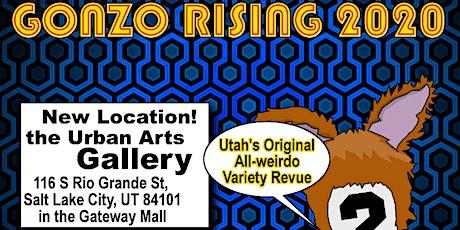 Gonzo Rising 2020 Season at Urban Arts Gallery tickets