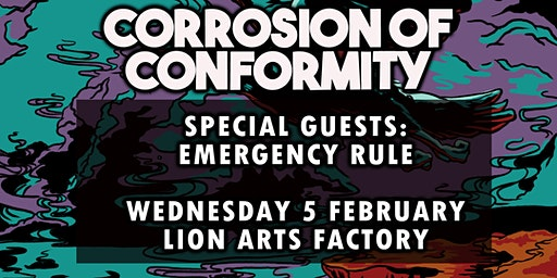 CORROSION OF CONFORMITY - Emergency Rule - Support discounted tickets