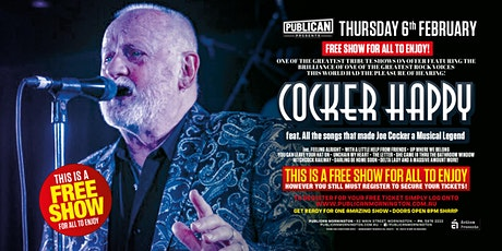 Cocker Happy LIVE at Publican, Mornington! tickets
