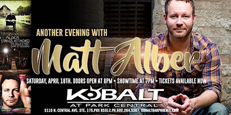 Another Evening With Matt Alber tickets