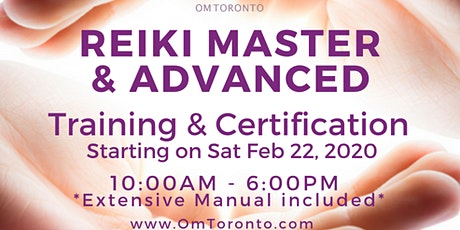 Reiki Master & Advanced: Training & Certification  tickets