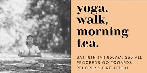 Karlkurla Yoga, Walk and Morning Tea