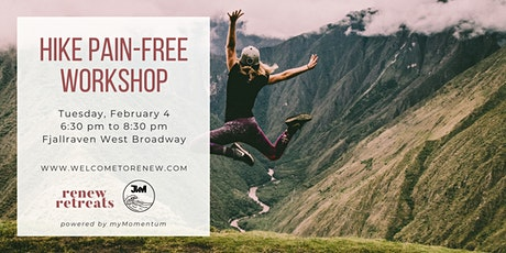 Hike Pain-Free Workshop + Workout tickets