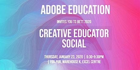 BETT Creative Educator Social tickets
