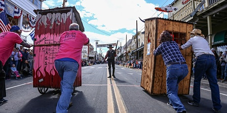 31st Annual Virginia City World Championship Outhouse Races October 3rd & 4th @ NOON Each Day tickets