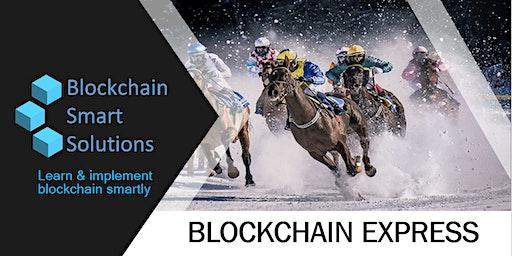 Blockchain Express Webinar   San Jose
