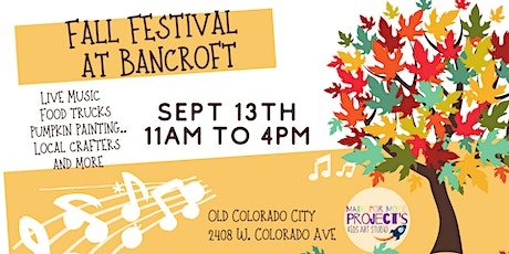 Fall Festival at Bancroft tickets