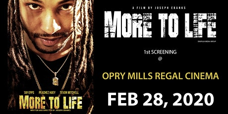 More To Life tickets
