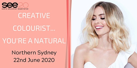 Creative Colourist... You're a Natural - NORTHERN SYDNEY tickets