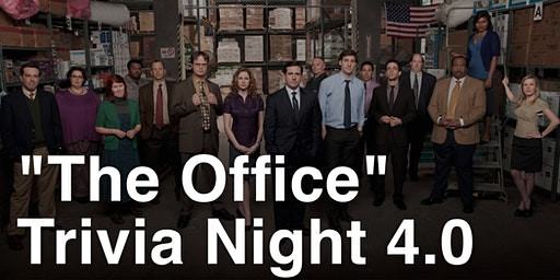 The Office Trivia Night 4.0 at B.C. Brewery