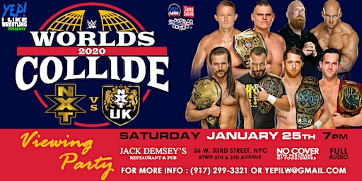 WWE Worlds Collide Viewing Party at Jack Demsey's