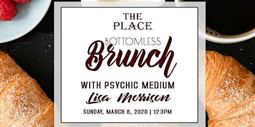 Bottomless Brunch with Psychic medium Lisa Morrison