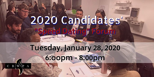 Candidate Speed Dating - 2020 (Candidate Registration)