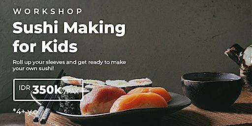 Workshop : Sushi Making for Kids