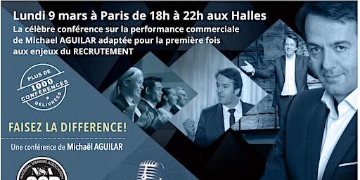 """Conférence  MICHAEL AGUILAR : """"FAISEZ LA DIFFERENCE"""" adaptée aux enjeux RH"""