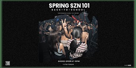 Spring SZN 101 tickets