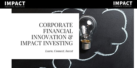 Corporate Financial Innovation & Impact Investing 2-day Executive Ed Course tickets