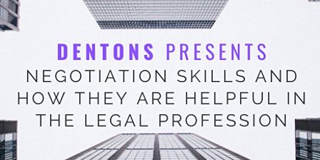 Negotiation Skills and How They are Helpful in the Legal Profession tickets