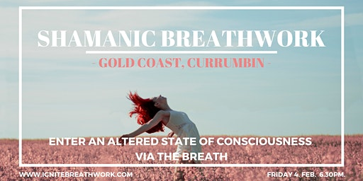 Shamanic Breathwork with Sharnee