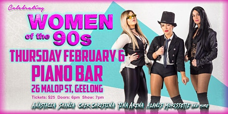 Piano Bar Presents Celebrating Women Of The 90s tickets