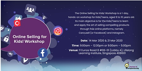 Online Selling for Kids ( 1 Day Workshop ) tickets