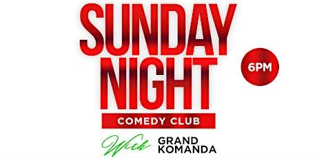 Sunday Night Comedy Club (Open Mic Edition) tickets