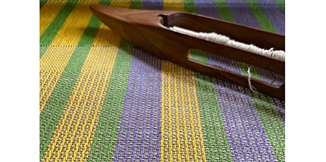 Weave a Cotton/Linen Hand Towel on a Floor Loom (02-01-2020 starts at 9:00 AM) tickets