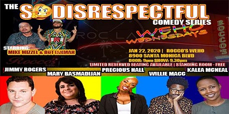 "The ""So Disrespectful"" Comedy Series tickets"