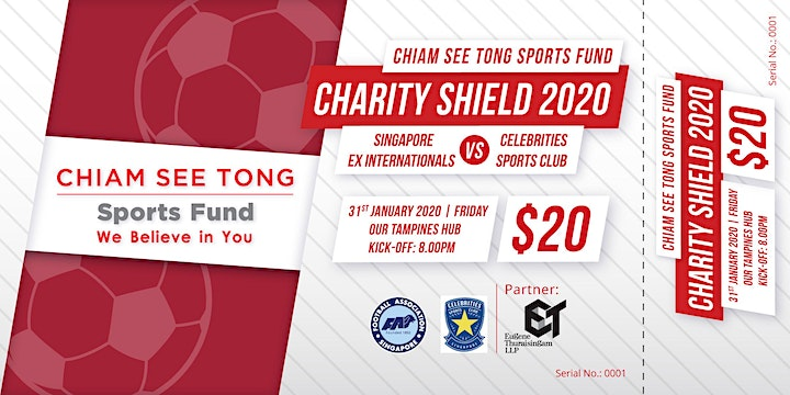 Chiam See Tong Sports Fund Charity Shield 2020 image