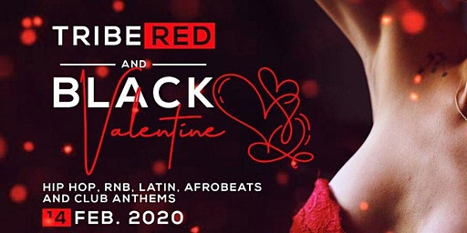 TRIBE RED AND BLACK VALENTINES
