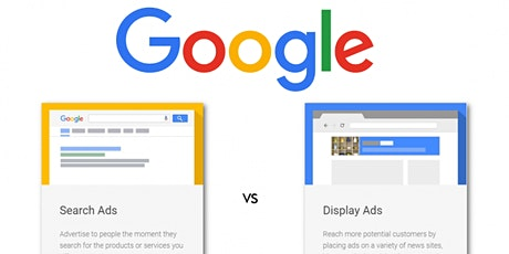 Google Display & Search Advertising tickets
