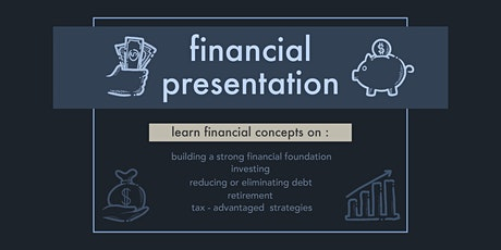 FINANCIAL PRESENTATION - Building a Strong Financial Foundation tickets