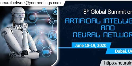 8th Global Summit on Artificial Intelligence and Neural Networks tickets