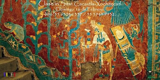 Clase in Situ: Cacaxtla-Xochitecatl.