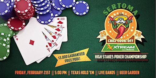 Sertoma High Stakes Poker Championship 2020