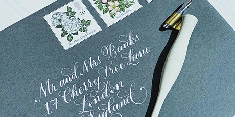 Beginners Calligraphy Workshop with Stacy Oakley Calligraphy tickets