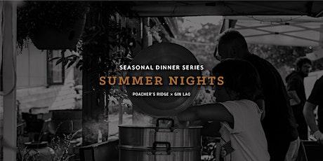 Summer Nights - Poacher's Ridge x Gin Lao tickets